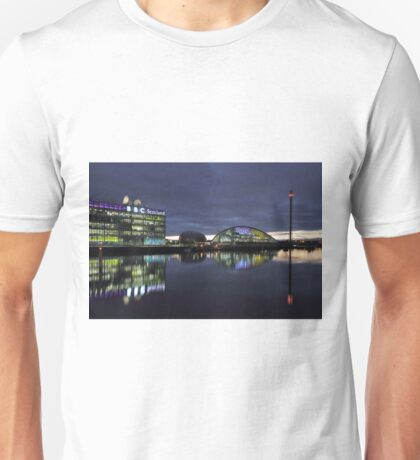 Glasgow River Clyde at Sunset Unisex T-Shirt