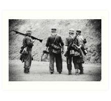 MG42 Team Art Print