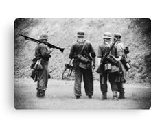 MG42 Team Canvas Print