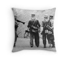 MG42 Team Throw Pillow