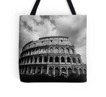 Colosseum in Black and White Tote Bag