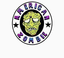 American Zombie Circle Face  T-Shirt