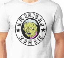 American Zombie Circle Face Part 2 Unisex T-Shirt