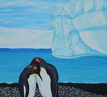 Penguins  by Heather Anne