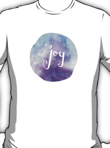 Watercolor Joy: Purple (can be modified) T-Shirt