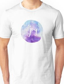 Watercolor Joy: Purple (can be modified) Unisex T-Shirt