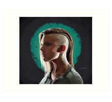 Cressida - The Hunger Games Art Print