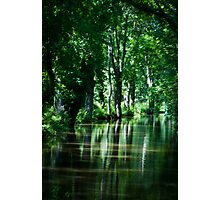 Reflections in Canal Photographic Print