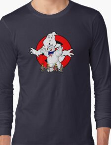 Springfield Ghostbusters  Long Sleeve T-Shirt