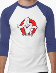 Springfield Ghostbusters  Men's Baseball ¾ T-Shirt