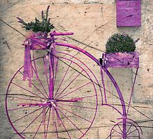 Lavender Bicycle by Svetlana Sewell