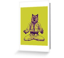 Martial Arts - Way of life #5 Greeting Card