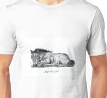 Sleeping Foal Design Unisex T-Shirt