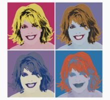 Sam Carter Pop Art Four Panel by ezraingram