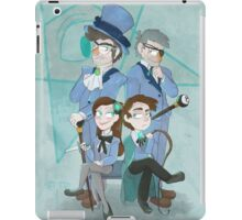 Reverse Pines Family Portrait iPad Case/Skin