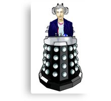 Doctor Who - I'm having his chair! Canvas Print