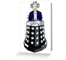 Doctor Who - I'm having his chair! Greeting Card