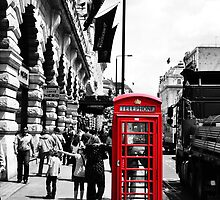 London Phonebox by AlexWood1995