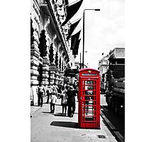 London Phonebox Photographic Print