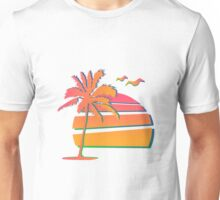 80's Sunset Unisex T-Shirt