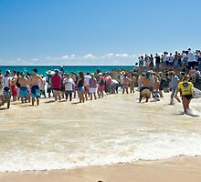 Roxy Pro crowd at Snapper by Gavin Lardner