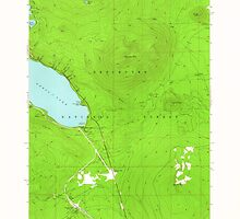 USGS Topo Map Oregon Odell Lake 280963 1963 24000 by wetdryvac