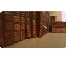 Old Books Photographic Print