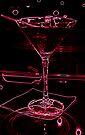 Neon Martini by Jessica Liatys