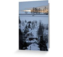 Northern Winter Greeting Card