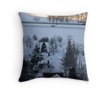 Northern Winter Throw Pillow