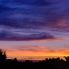 Sunset in August by Keld Bach