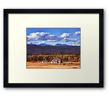 Snoqualmie Pass Framed Print