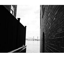 The Boundary Photographic Print