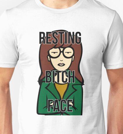 Daria's Resting Bitch Face Unisex T-Shirt