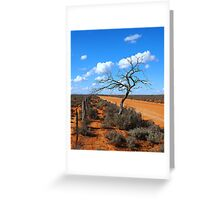 The Road to Faraway Hill Greeting Card