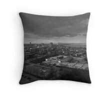 Clouds Over the City Throw Pillow