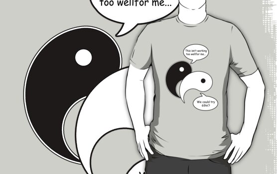 The Original Yin Yang! by jamiefnleckie