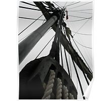 Rigging on the Nina Poster