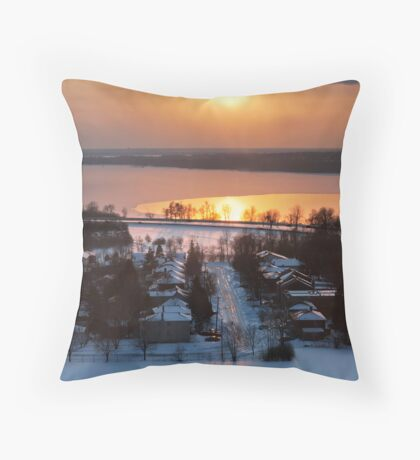Northern Winter NO.2 Throw Pillow
