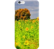 Rigby Idaho - Dreaming Of Sunflowers iPhone Case/Skin