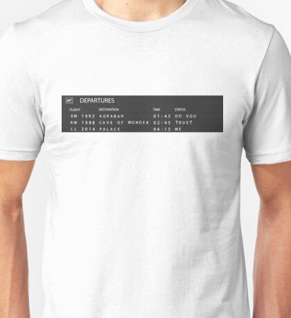 Flight to Agrabah Unisex T-Shirt