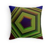 Polygon 3d Throw Pillow