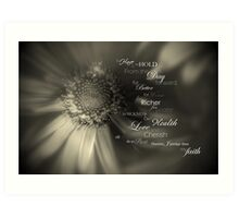 Traditional Vows Art Print
