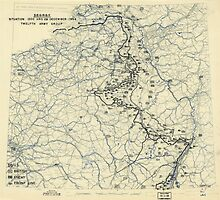 World War II Twelfth Army Group Situation Map December 28 1944 by allhistory