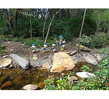 Trek through Camp Minnie Mickey Photographic Print
