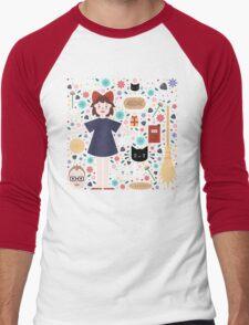 Kiki's Delivery Service Men's Baseball ¾ T-Shirt
