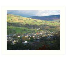 Yorkshire Valley Art Print