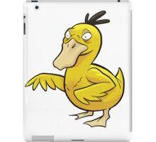 Thoughtful Duck (#054) iPad Case/Skin