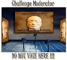Inspired Art Challenge Moderator by artisandelimage
