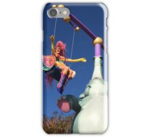 Swinging Over the Parade iPhone Case/Skin